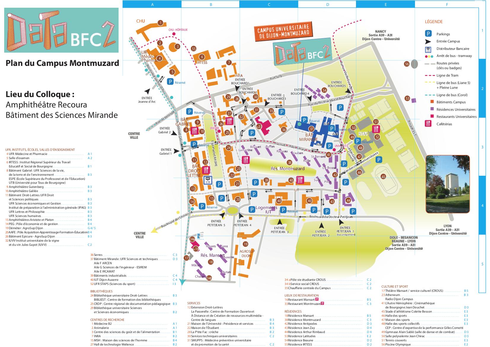 plan campus DataBFC2
